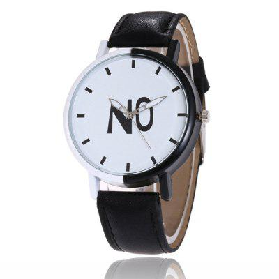 Fashion New Girl Boys Students Leather Watch