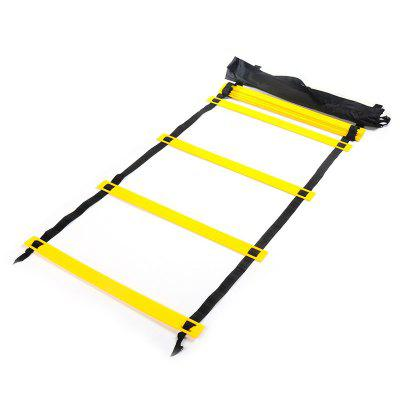 6 Meters 12 Block Foot Speed Agility Ladder for Football Training and Outdoor Fitness Equipment