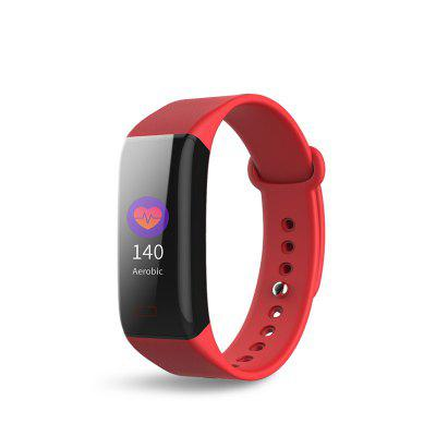 J-STYLE 1668-06 Color Big Screen Heart Rate Bluetooth Smart Wristband Compatible with Android and iOS