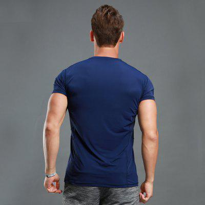 MenS Sports T Shirt Quick Drying Fashion Solid Color Breathable Elastic T ShirtWeight Lifiting Clothes<br>MenS Sports T Shirt Quick Drying Fashion Solid Color Breathable Elastic T Shirt<br><br>Elasticity: Micro-elastic<br>Material: Polyester, Modal<br>Package Contents: 1 x T-shirt<br>Pattern Type: Solid<br>Weight: 0.3000kg