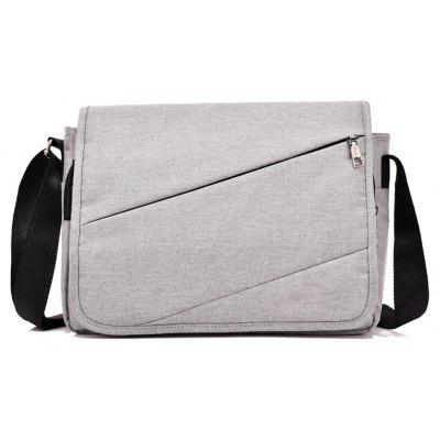 Messenger Canvas Cross Section Large Capacity Computer Bag