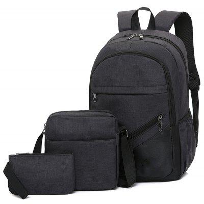 High-Capacity Student Bags Simple and Lightweight