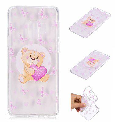 TPU Material Painted Phone Case for Samsung Galaxy S9Samsung S Series<br>TPU Material Painted Phone Case for Samsung Galaxy S9<br><br>Color: Transparent<br>Compatible with: SAMSUNG<br>Features: Back Cover<br>For: Samsung Mobile Phone<br>Material: TPU<br>Package Contents: 1 x Phone Case<br>Package size (L x W x H): 18.00 x 11.00 x 1.00 cm / 7.09 x 4.33 x 0.39 inches<br>Package weight: 0.0180 kg<br>Product size (L x W x H): 14.50 x 7.00 x 0.80 cm / 5.71 x 2.76 x 0.31 inches<br>Product weight: 0.0170 kg<br>Style: Pattern