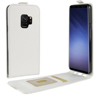 Durable Crazy Horse Pattern Up and Down Style Flip Buckle PU Leather Case for Samsung Galaxy S9Samsung S Series<br>Durable Crazy Horse Pattern Up and Down Style Flip Buckle PU Leather Case for Samsung Galaxy S9<br><br>Features: Vertical Top Flip Case<br>Material: PU Leather<br>Package Contents: 1 x Phone Case<br>Package size (L x W x H): 20.00 x 10.00 x 5.00 cm / 7.87 x 3.94 x 1.97 inches<br>Package weight: 0.0500 kg<br>Product size (L x W x H): 16.00 x 7.00 x 0.80 cm / 6.3 x 2.76 x 0.31 inches<br>Product weight: 0.0300 kg<br>Style: Solid Color