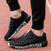 ZEACAVA Men's New Running  Breathable Sneakers Outdoor Sport Shoes - BLACK