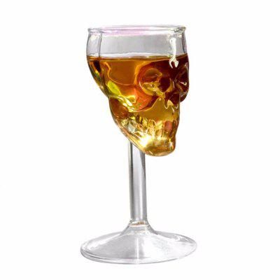 Skull Glass Whisky Cup red Wine Bone Cocktail Vodka