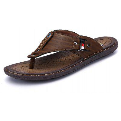 Men Sandals Hiking Summer Fashion Leisure Casual Soft Sport Beach Slippers Shoes