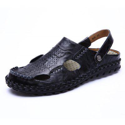 Men Sandals Hiking Fashion Summer  Leisure Casual Soft Sport Beach Slippers Shoes