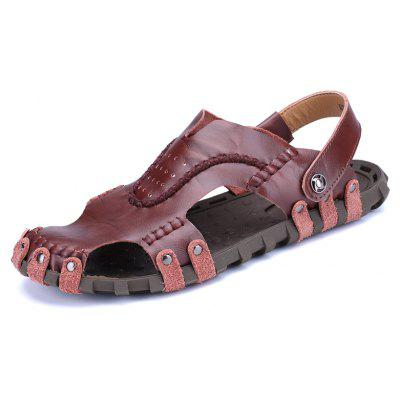 Men Sandals Hiking Fashion Summer Leisure Casual Soft Sport Slippers Beach Shoes