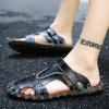 Men Sandals Hiking Fashion Summer Leisure Casual Soft Sport Slippers Beach Shoes - BLACK