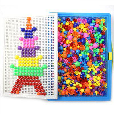 295 Creative Nail Mushrooms Inserting Plate Combined Children Puzzle Toys 295 183x1200