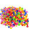 295 Creative Nail Mushrooms Inserting Plate Combined Children Puzzle Toys - MULTI