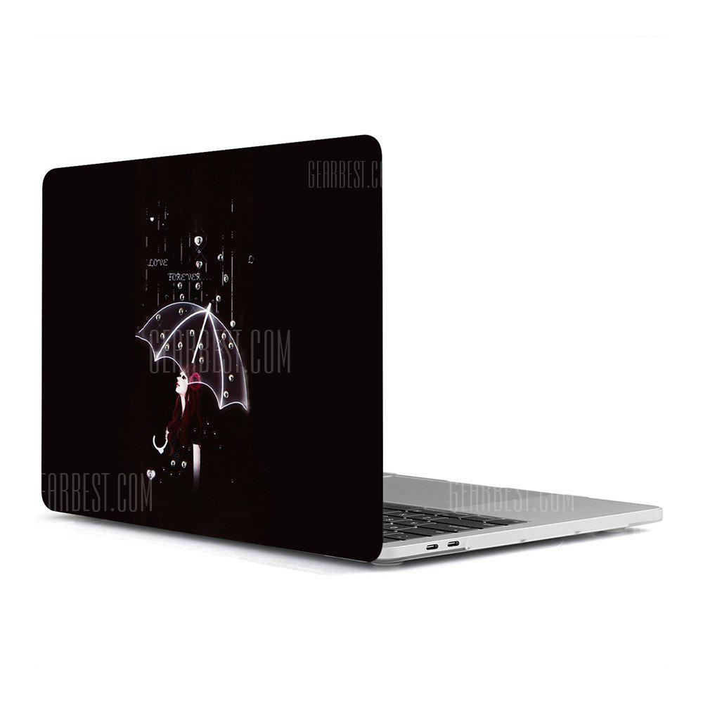 Computer Shell Laptop Case Keyboard Film Surface + Low for MacBook Air 13.3 inch 3D Small Fresh Series 3