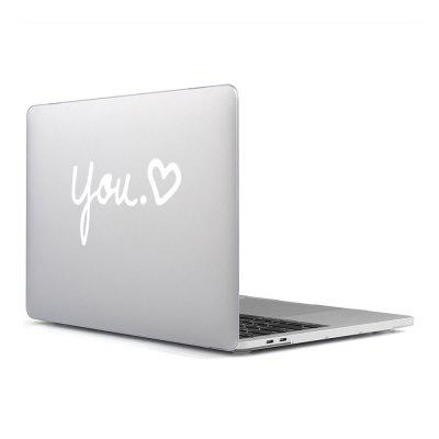 Computer Shell Laptop Case Keyboard Film Surface + Low for MacBook Pro 13.3 inch 3D Small Fresh Series 5