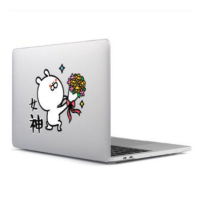 Computer Shell Laptop Case Keyboard Film Surface + Low for MacBook Pro 13.3 inch 3D Small Fresh Series 10