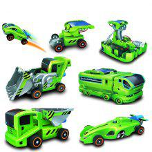7 in 1 Solar Power Car Kit Educational Toy