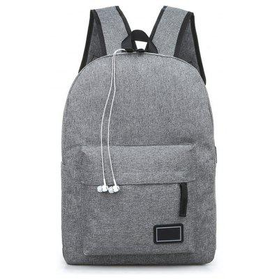 Canvas Travelling  Student  Large Capacity Bag