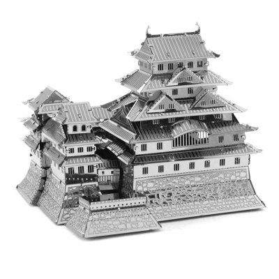 Gearbest Creative Himeji Castle 3D Metal High-quality DIY Laser Cut Puzzles Jigsaw Model Toy