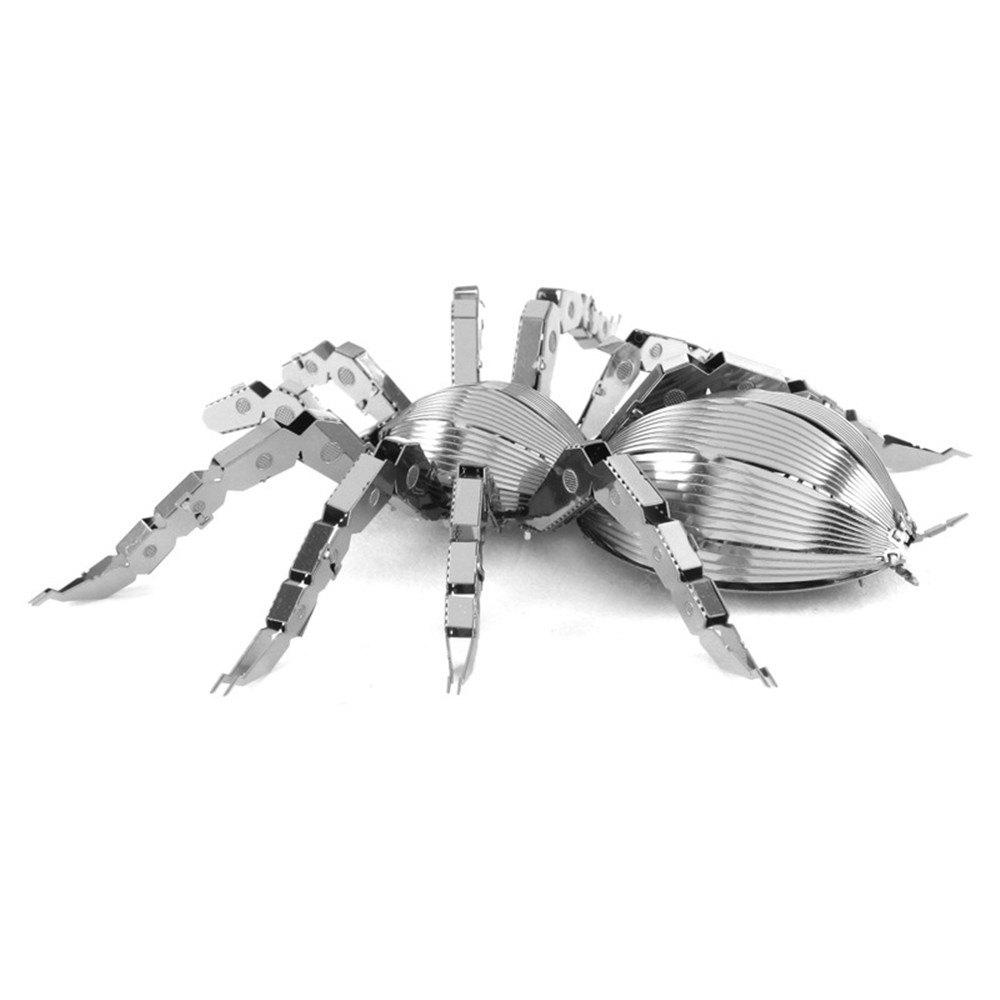 Creative Spider 3D Metal High-quality DIY Laser Cut Puzzles Jigsaw Model Toy