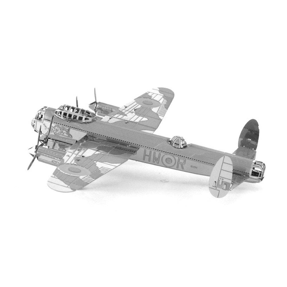 Creative Lancaster Bomber 3D Metal High-quality DIY Laser Cut Puzzles Jigsaw Model Toy