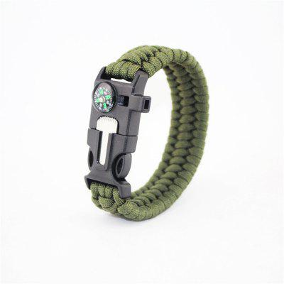 Multi-function Outdoor Tools Rescue Knit Bracelets