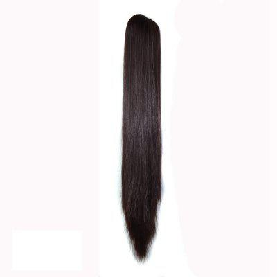 Long Straight  Heat Resistant Fibre Synthetic Claw Ponytail Clip in Hair Extensions