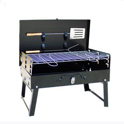 Foldable Portable Charcoal Barbecue Grill