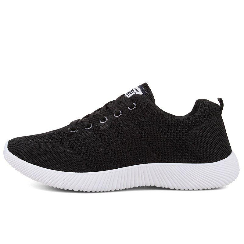 New Men Round Head Youth Breathable Cool Mesh Casual Sports Shoes