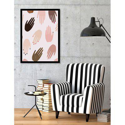 Canvas Inkjet Abstract Cute Simple Painting Living Room Bedroom Restaurant Home Wall Art