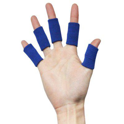 5PCS Professional Fingerstall Finger Gear Protective Cover Gloves for Basketball Volleyball Sport Gym