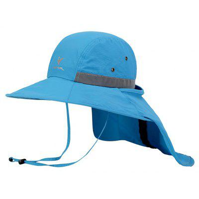 Vepeal Outdoor Storage Protection Neck Wide Brimmed Hat