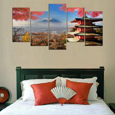 MailingArt FIV369  5 Panels Landscape Wall Art Painting Home Decor Canvas PrintPrints<br>MailingArt FIV369  5 Panels Landscape Wall Art Painting Home Decor Canvas Print<br><br>Craft: Print<br>Form: Five Panels<br>Material: Canvas<br>Package Contents: 5 x Print<br>Package size (L x W x H): 28.00 x 6.00 x 6.00 cm / 11.02 x 2.36 x 2.36 inches<br>Package weight: 0.2000 kg<br>Painting: Include Inner Frame<br>Product size (L x W x H): 27.00 x 5.00 x 5.00 cm / 10.63 x 1.97 x 1.97 inches<br>Product weight: 0.1800 kg<br>Shape: Horizontal Panoramic<br>Style: Realism, Modern / Contemporary, Landscape, Natural<br>Subjects: Landscape<br>Suitable Space: Living Room,Bedroom,Dining Room,Office,Hotel,Cafes,Kids Room,Kitchen,Hallway,Kids Room,Study Room / Office