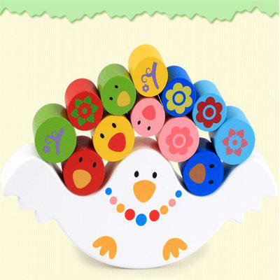 Madeira Multi Function Bird Balance Early Education Puzzle Toy