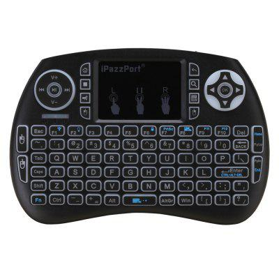 iPazzPort 3-color Backlit Wireless Mini Keyboard and Mouse Touchpad for Raspberry Pi 3 Windows/Android/Google/Smart TV