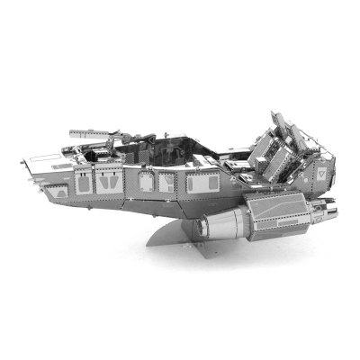 3D Metal Model Snowmobile Kit Jigsaw