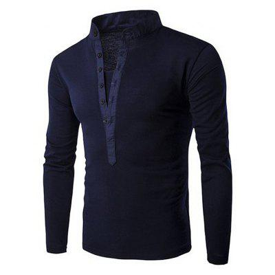 Autumn and Winter Men's Long-Sleeved T-Shirt
