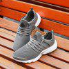 ZEACAVA Men Mesh Trendy Breathable Wild's Sports Shoes - GRIGIO