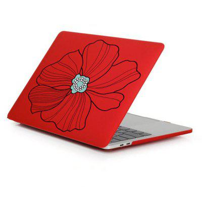 Case for MacBook Pro 15 inch Rubberized Matte Hard Shell Hand-painted Pattern