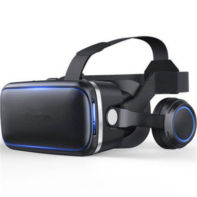 Headset with Remote Controller 3D Glasses Virtual Reality Headset for VR Games