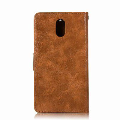 Leather Flip Wallet Case for Lenovo P1M Holer Phone Shell with Lanyard for iphone 7 plus pattern printing light spot decor leather wallet case with lanyard cute cow