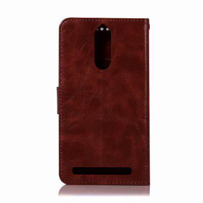 Leather Flip Wallet Case for Lenovo K5 Note Holer Phone Shell with Lanyard for iphone 7 plus pattern printing light spot decor leather wallet case with lanyard cute cow