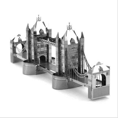 Creative London Tower Bridge 3D Metal High-quality DIY Laser Cut Puzzles Jigsaw Model Toy