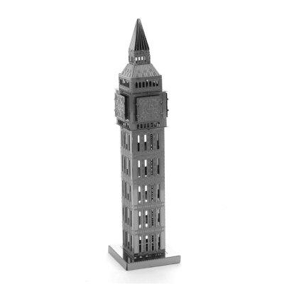 Creative Big Ben 3D Metal High-quality DIY Laser Cut Puzzles Jigsaw Model Toy