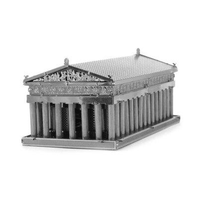Creative Temple of Athens 3D Metal High-quality DIY Laser Cut Puzzles Jigsaw Model Toy