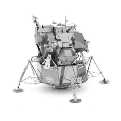 Creative Lunar Lander 3D Metal High-quality DIY Laser Cut Puzzles Jigsaw Model Toy