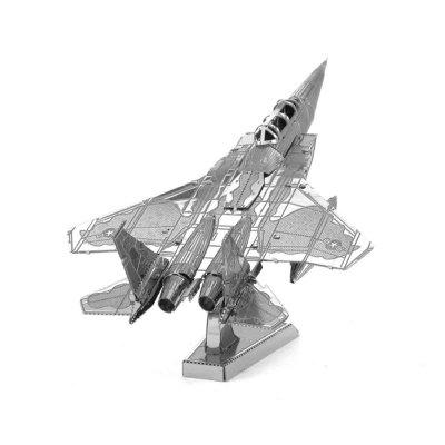Creative F15 Fighter 3D Metal High-quality DIY Laser Cut Puzzles Jigsaw Model Toy