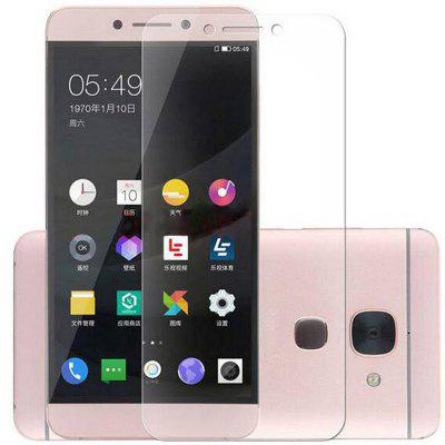 2.5D Arc Edge Tempered Glass Screen Film for LeEco Le S3 X626 asling 2 5d arc edge tempered glass screen film for xiaomi a1