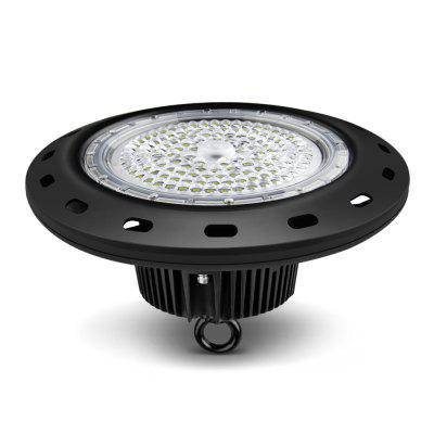 150W LED UFO High Bay Lights IP65 19500 Lm 6000K Works From 100V To 277V
