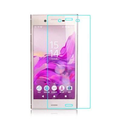 For Sony Xperia XZ1 Compact Full Side 2.5D High Definition Explosion Proof Toughened Glass Film tiempo muerto