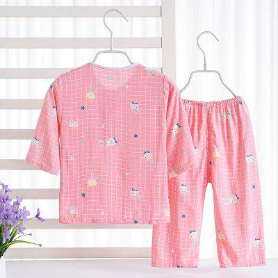 Rayon Girls Pajamas Home Furnishing Air Conditioning Service Set C58Girls clothing sets<br>Rayon Girls Pajamas Home Furnishing Air Conditioning Service Set C58<br><br>Closure Type: Open<br>Clothing Length: Regular<br>Collar: Round Collar<br>Embellishment: Pattern<br>Gender: Girls<br>Head Drawstring: Without<br>Material: Rayon<br>Neck Drawstring: Without<br>Package Contents: 1 x Set of Pajamas<br>Pattern Type: Others<br>Season: Summer<br>Shirt Length: Regular<br>Sleeve Length: Full<br>Style: Casual<br>Type: Wide-waisted<br>Weight: 0.1000kg